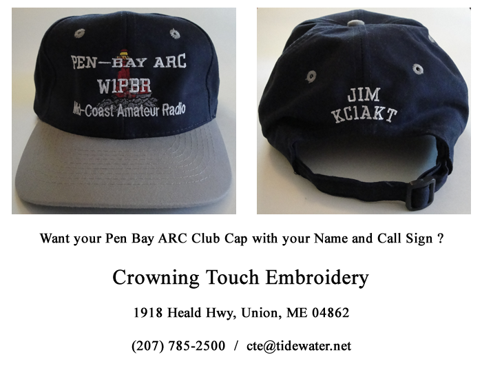 Crowning Touch Embroidery - Union, ME